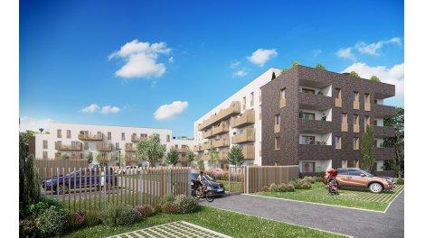 Appartement neuf La Roseraie de Paul TR1 éco-habitat à Amiens