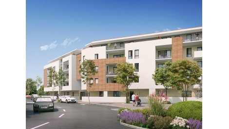 Appartement neuf Boreal éco-habitat à Aix-en-Provence