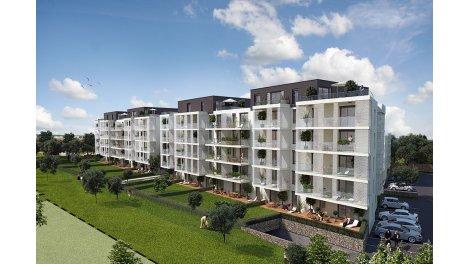 Appartement neuf Côté Rives-1 à Bischheim