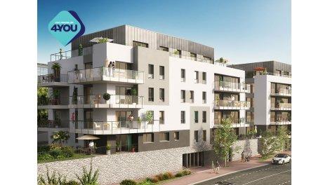 Appartement neuf Living Leman 2 investissement loi Pinel à Evian-les-Bains