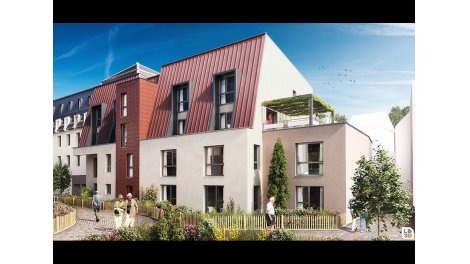 Appartement neuf Courtille Sainte-Marthe à Dijon