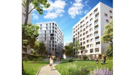 Appartement neuf Acti'City éco-habitat à Lille