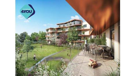 Appartement neuf Les 5 Jardins éco-habitat à Décines-Charpieu
