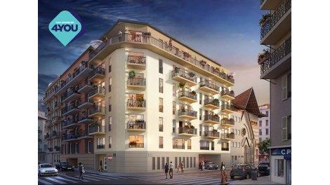 Appartement neuf Esprit City éco-habitat à Nice