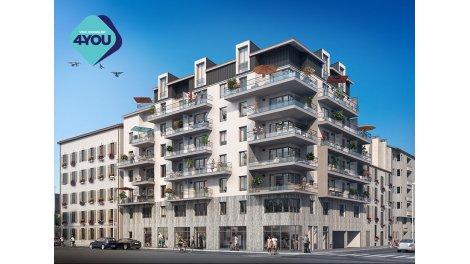 Appartement neuf Cadence éco-habitat à Nice