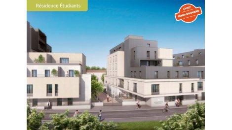 Appartement neuf La Reine Blanche (etudiante) éco-habitat à Orléans