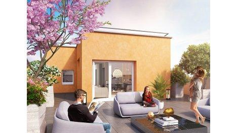 Appartement neuf Osmose éco-habitat à Gieres