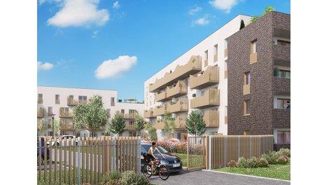 Appartement neuf La Roseraie de Paul TR2 éco-habitat à Amiens