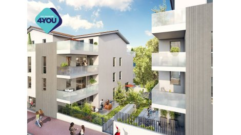 Appartement neuf Monts Village éco-habitat à Irigny