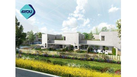 Appartements et maisons neuves Lodge Garden éco-habitat à Saint-Priest