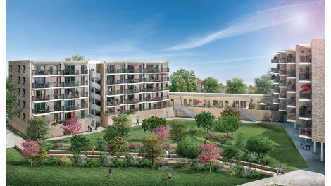 Appartement neuf Cour Magenta éco-habitat à Toulouse