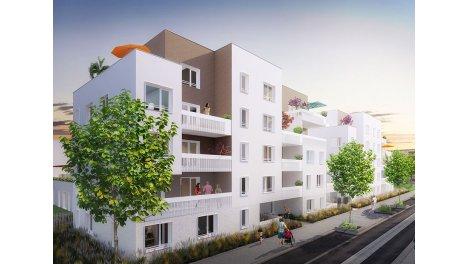 Appartement neuf As de Coeur éco-habitat à Villeurbanne