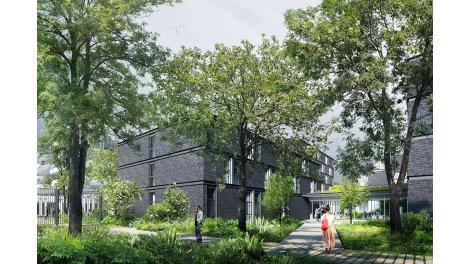 Appartement neuf Student Factory Lille-Euratechnologie éco-habitat à Lille