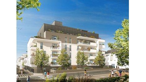 Appartement neuf Les Terrasses de la Reine Blanche éco-habitat à Orléans