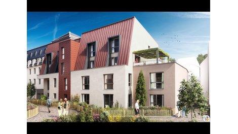 Appartement neuf Courtille Sainte-Marthe éco-habitat à Dijon