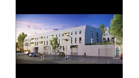 Appartement neuf Teknologgia-Euratechnologie éco-habitat à Lille