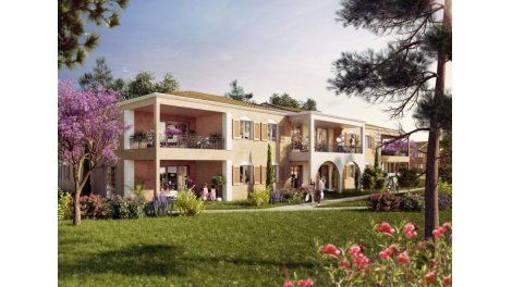 Appartement neuf Verd'O Residence Arboree TR 2 à Ollioules