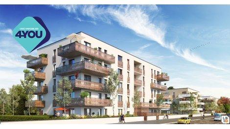 Appartement neuf L'Ariane éco-habitat à Huningue