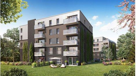 Appartement neuf L'Oree de Barbieux éco-habitat à Croix