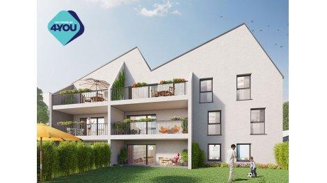Appartement neuf Virtuo éco-habitat à Bordeaux