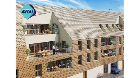 Appartement neuf L'Heritage éco-habitat à Colmar