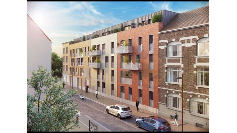 Appartement neuf Osmoz à Lille
