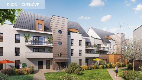 Appartement neuf Oblique investissement loi Pinel à Dijon