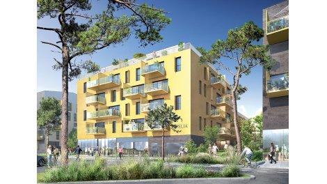 Appartement neuf Le Patio Margot éco-habitat à Rennes