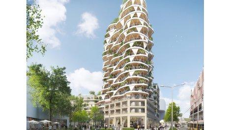 Appartement neuf Higher Roch éco-habitat à Montpellier