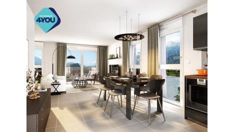 Appartement neuf Toises & Moi éco-habitat à Le Pont-de-Claix