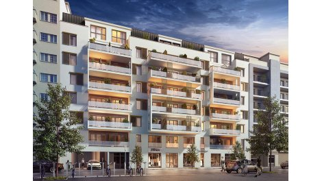 Appartement neuf Opus 62 éco-habitat à Nice