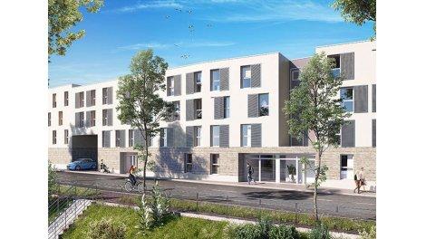 Appartement neuf L'Ideallee éco-habitat à Nancy