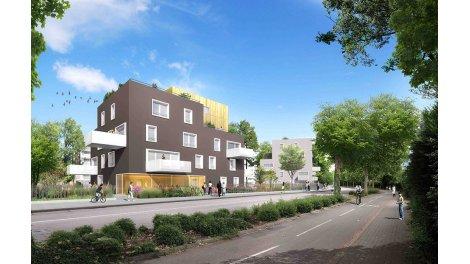 Appartement neuf Kokon investissement loi Pinel à Strasbourg