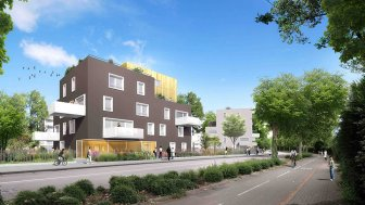 Appartements neufs Kokon éco-habitat à Strasbourg