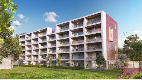 Appartement neuf Korus éco-habitat à Strasbourg