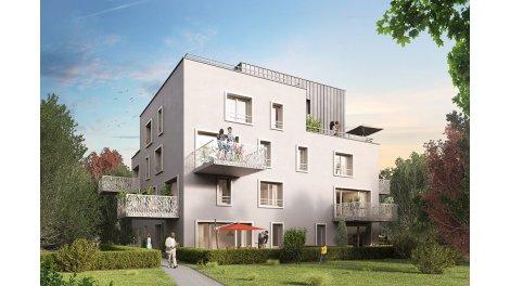 Appartement neuf Kubik éco-habitat à Strasbourg