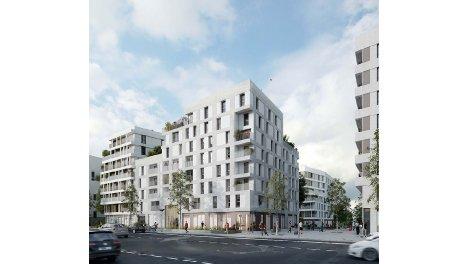 Appartement neuf Canal en Vues - Quai n° 3 et Quai n° 5 investissement loi Pinel à Noisy-le-Sec