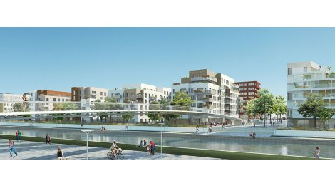 Appartement neuf Canal en Vues - Quai n° 7 & Quai n° 8 investissement loi Pinel à Noisy-le-Sec