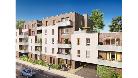 Appartement neuf In Villam investissement loi Pinel à Ronchin