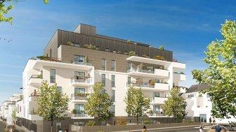 Appartements neufs Les Terrasses de la Reine Blanche investissement loi Pinel à Orléans