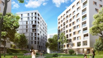Appartements neufs Acti'City éco-habitat à Lille