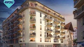 Appartements neufs Quartier Riquier investissement loi Pinel à Nice