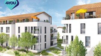 Appartements neufs Les 5 Continents éco-habitat à Couëron