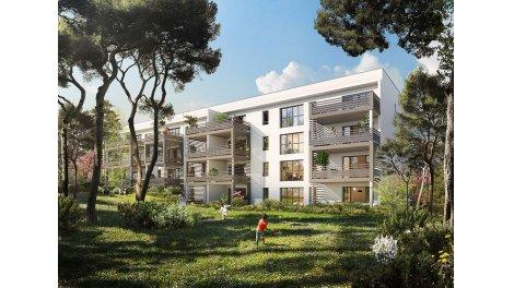 Appartement neuf Yumi - Pont de l'Arc investissement loi Pinel à Aix-en-Provence