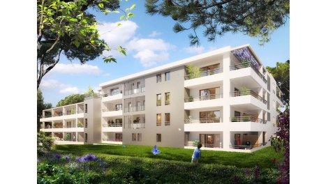 Appartement neuf L'Echappee Residence - 13ème Arrondissement à Marseille 13ème