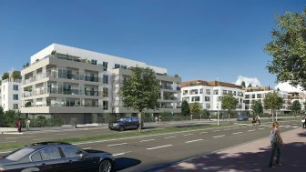 Appartements neufs Nouveau Domaine Harmony TR2 investissement loi Pinel à Antony