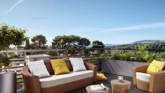 Appartements neufs Les Collines de l'Estagnol investissement loi Pinel à Antibes
