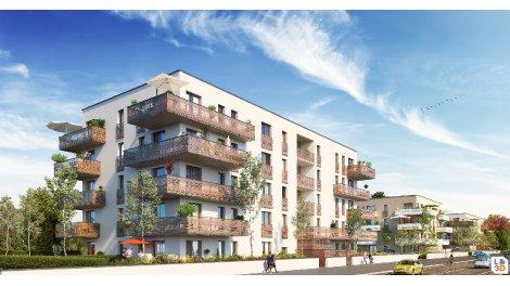 Appartement neuf L'Ariane investissement loi Pinel à Huningue