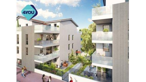 Appartement neuf Monts Village investissement loi Pinel à Irigny