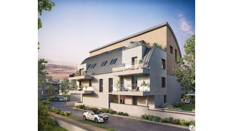 Appartement neuf Perlines investissement loi Pinel à Strasbourg